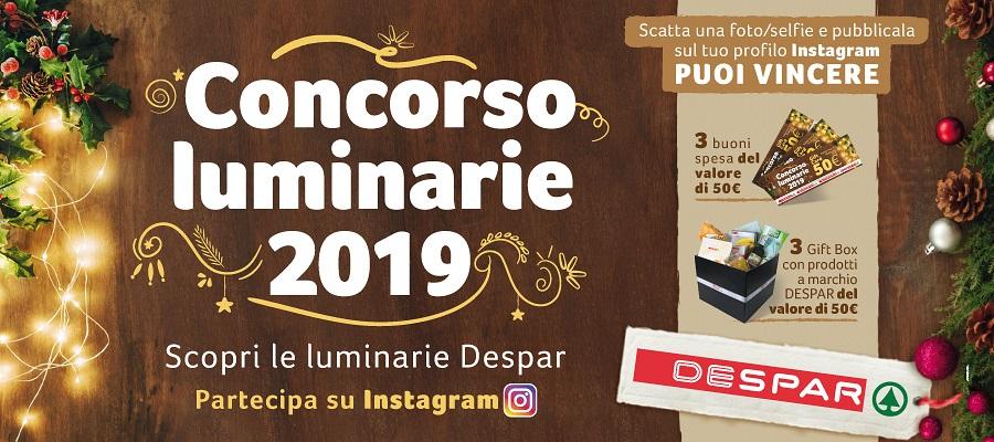 CONCORSO LUMINARIE DESPAR 2019