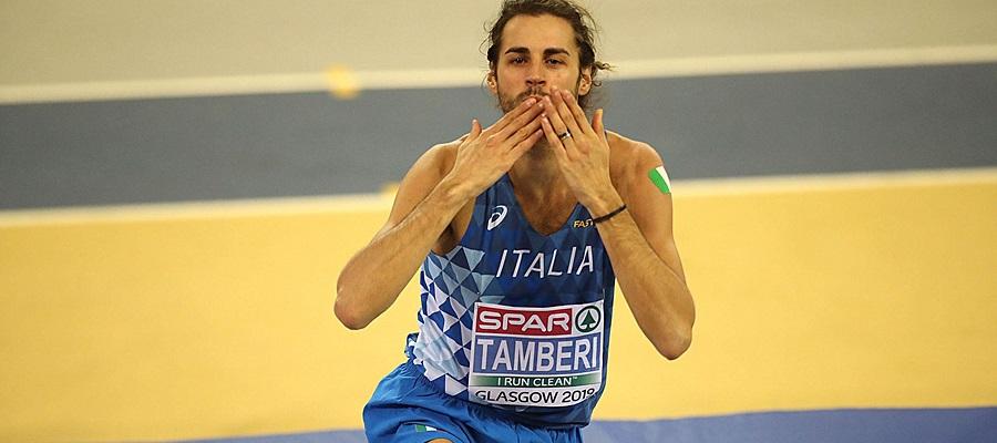 Despar celebra Gianmarco Tamberi