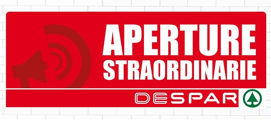 APERTURE STRAORDINARIE 15 AGOSTO 2019
