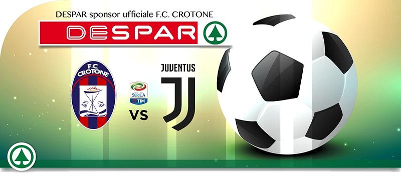 Despar ti regala Crotone-Juventus