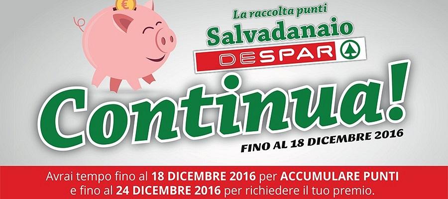 Salvadanaio Despar: l'operazione continua!